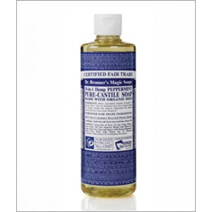 Dr Bronner's Peppermint Organic Liquid Soap 472ml