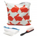 Kissing Rabbits Large Toiletry Bag