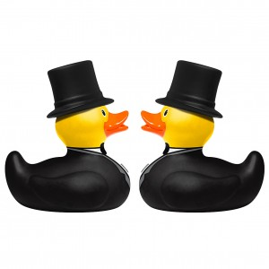 Groom & Groom Mini Rubber Ducks