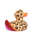 Luxury Lush Leopard Rubber Duck