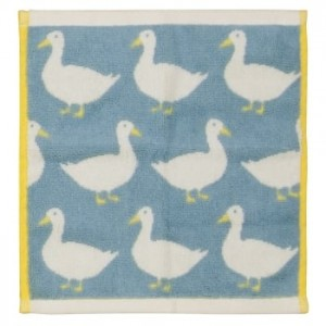 Waddling Ducks Face Towel