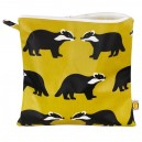 Kissing Badgers Large Toiletry Bag